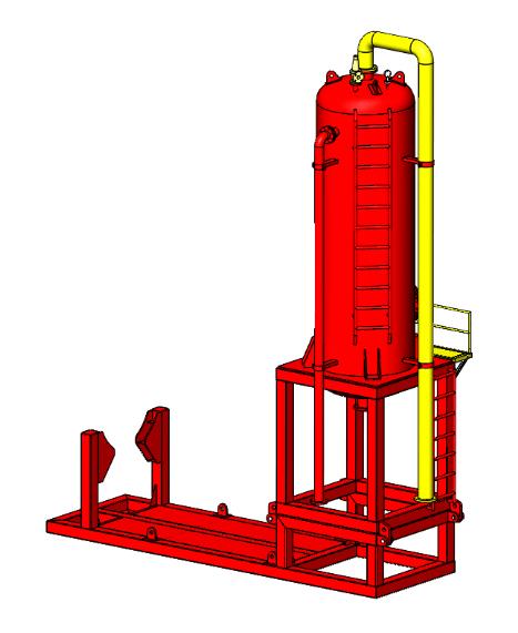 Mud Gas Separator Working Principle