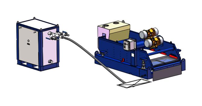 Vacuum Suction Shale Shaker