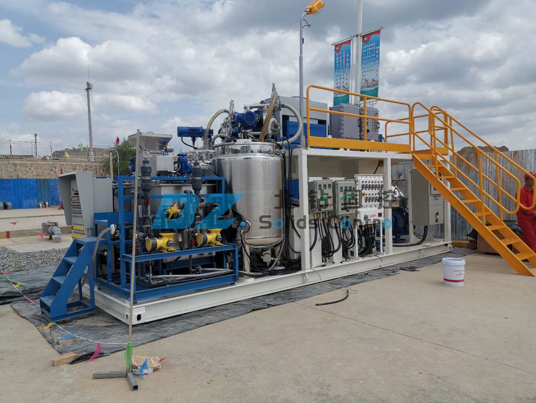BZ oil sludge treatment system