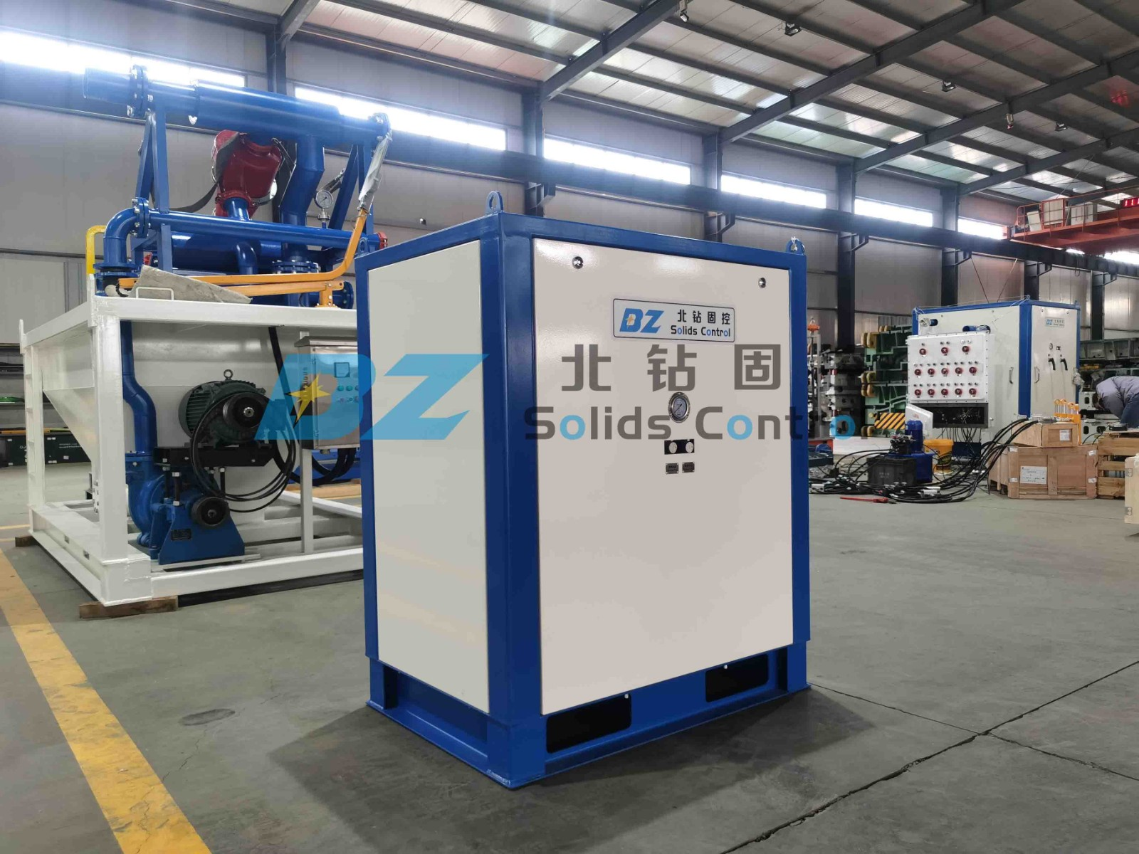 BZ vacuum suction device was sent to the drilling site